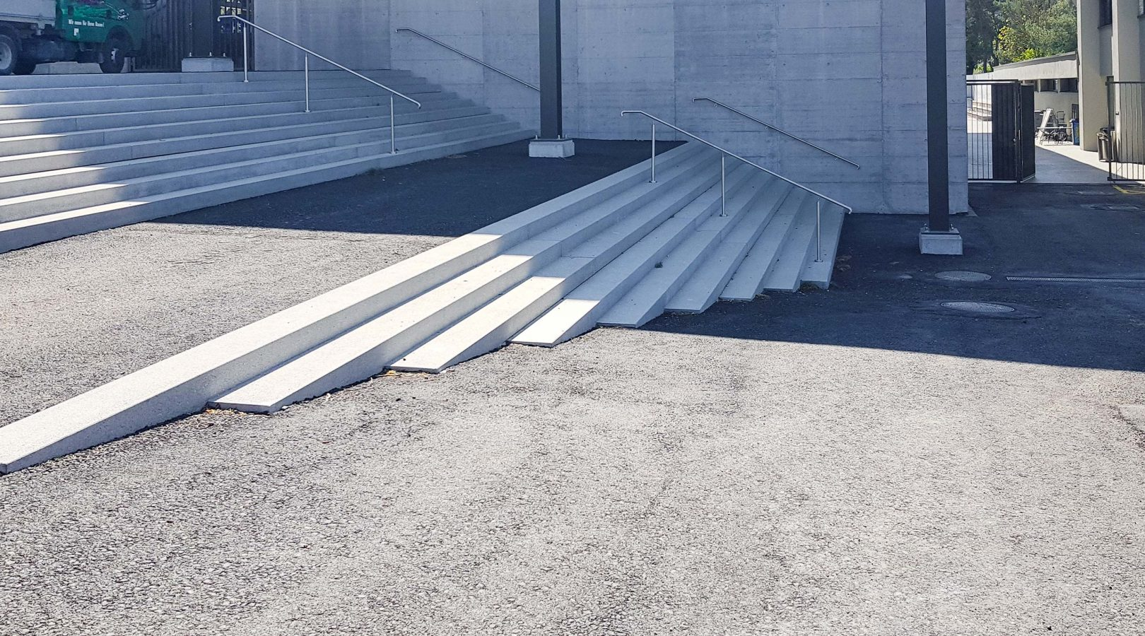 Sportanlage Treppe